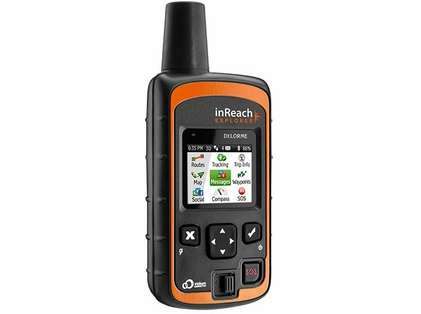 DeLorme inReach Explorer Two Way Satellite Communicator w/ Navigation