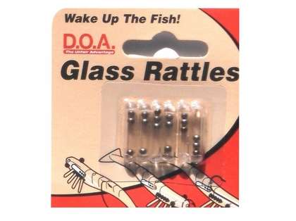 DOA GLRATTS Glass Rattles Small 6pk