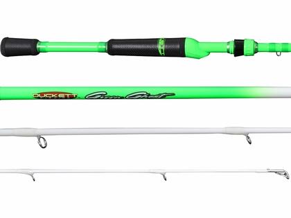 Duckett Fishing Green Ghost Spinning Rods
