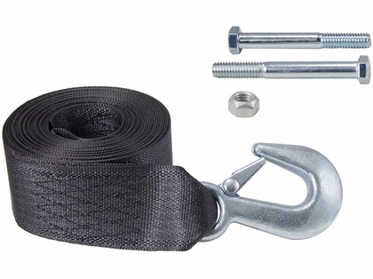 Dutton-Lainson 6248 Heavy Duty Winch Strap and Hook - 15'