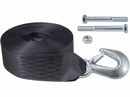 Dutton-Lainson 6250 Heavy Duty Winch Strap and Hook - 25'