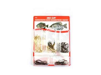 Eagle Claw 616H Crappie/Bream Hook Assortment