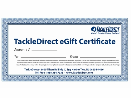 $40 eGift Certificate - Online Use Only