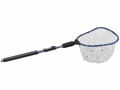 EGO Kryptek S2 Slider 75013 Compact Landing Net - Clear Rubber Mesh
