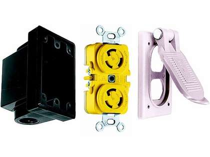 Elec-Tra-Mate 15A-BWK Hubbell 15 AMP Boat Wiring Kit