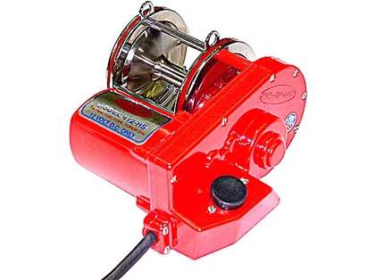 Elec-Tra-Mate 412-HS Electric Reel Drive for Penn 113H2 4/0