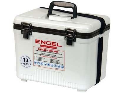 Engel UC13 Cooler/Dry Box 13Qt  White