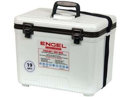 Engel UC19 Cooler/Dry Box 19Qt White