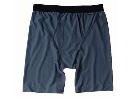 ExOfficio Men's Boxer Briefs Charcoal