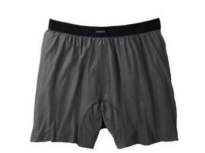 ExOfficio Men's Boxers Charcoal