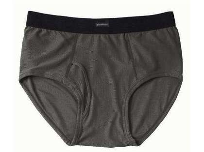 ExOfficio Men's Briefs Charcoal