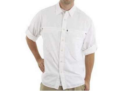 ExOfficio Men's Reef Runner Lite Long-Sleeve Shirt White