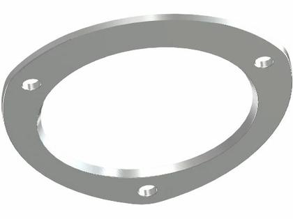 Exploding Fish Rod Holder Universal Backing Plate
