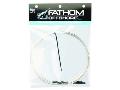 Fathom Offshore Cable 49 Strand SS Coil with 12 Oxide/Copper Crimps