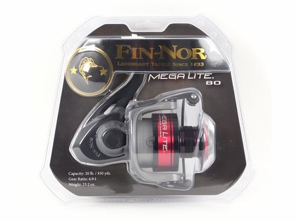Fin-Nor MLS80 Mega Lite Spinning Reel - Clam Pack