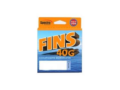 Fins FNS40G-25-150-WH 40G Composite Superline Braided Fishing Line