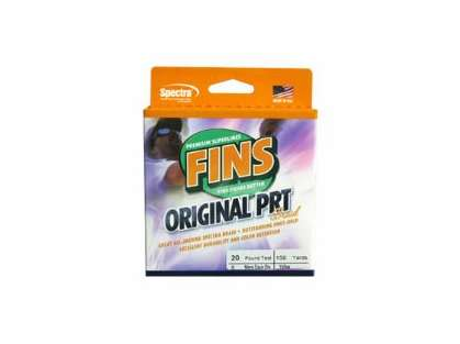 FINS Original PRT Braided Fishing Line 80lb 300yds Green FNS80PRT-300G