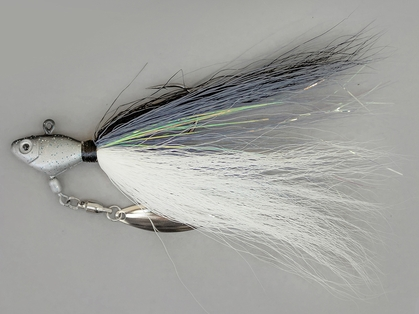 Fish Head Bucktail Spin