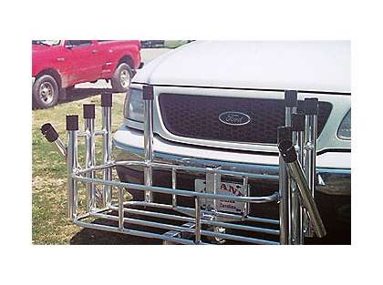 Fish-N-Mate 692 Surf Mate 10 Rod Cooler Rack