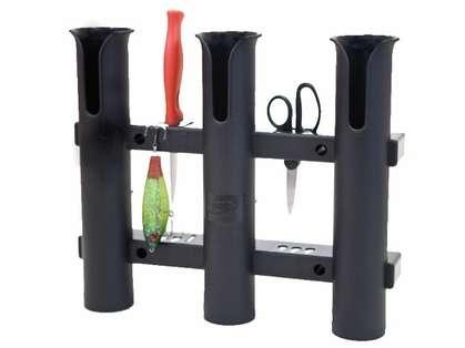 Fish-On! Plastic Triple Rod Holder