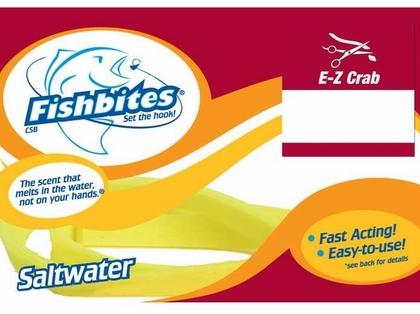 Fishbites 0074 Fast Acting EZ Crab 2Pk Orange