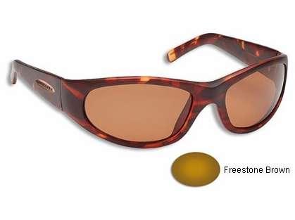 Fisherman Eyewear 90603 Guideline Pro Rogue Tortoise Frame/Brown Lens