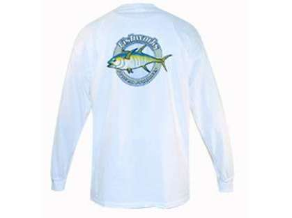 Fishworks Corporate Logo Long Sleeve Tee - White
