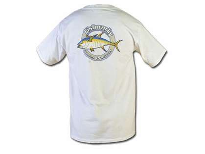 Fishworks TSS01 Corportate Logo Tee White XXL