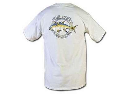 Fishworks TSS01 Corportate Logo Tee White (L-XL)