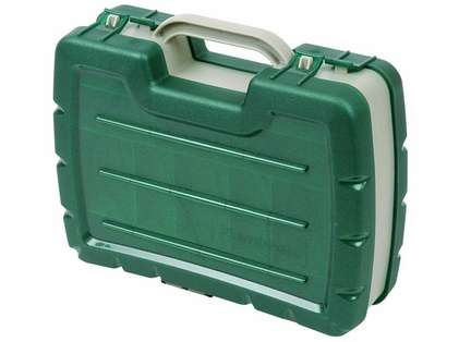 Flambeau 7220 11in. Double Satchel Tackle Box