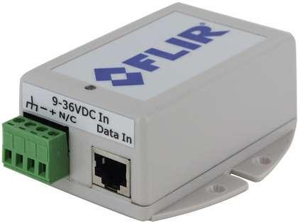FLIR 12V Power Over Ethernet Injector