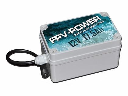 FPV-POWER Lithium 17.5 Ah Waterproof Kayak Battery & Charger