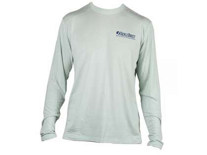 TackleDirect Free Fly FF102 TackleDirect Logo Bamboo Tech Long Sleeve Shirt - 3XL
