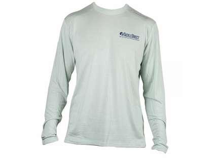 TackleDirect Free Fly FF102 TackleDirect Logo Bamboo Tech Long Sleeve Shirt - XXL