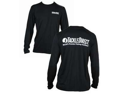 TackleDirect Free Fly TackleDirect Logo Bamboo Tech LS Shirts