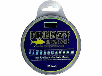 Frenzy Tackle Fluorocarbon Leader - 50yds