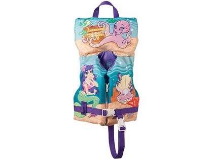 Full Throttle 1042 Infant/Child Character Vest - Mermaid