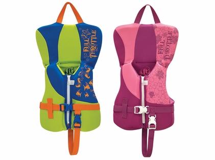 Full Throttle Rapid-Dry Infant Life Vest