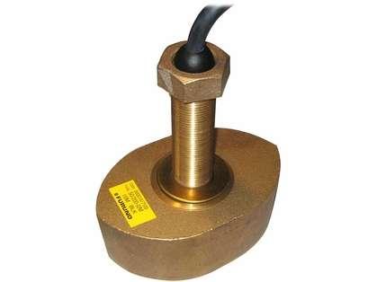 Furuno CA50/200-12M Bronze Thru-Hull 1kW 50/200 Khz Transducer