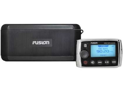 Fusion MS-BB300R Black Box Entertainment System w/ BT & Fusion-Link