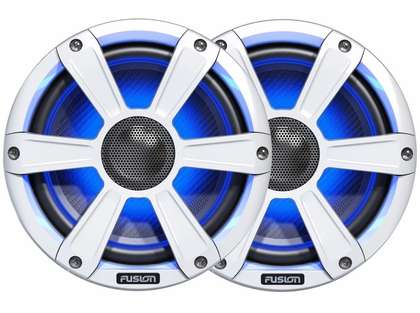 Fusion SG-FL77SPW Signature Series Speakers 7.7in w/ LED Illumination