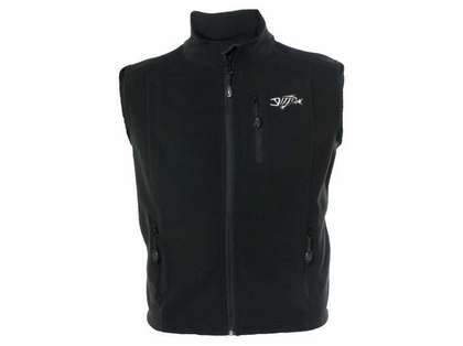 G-Loomis GVSTRECFBK Reciprocal Fleece Vest Black