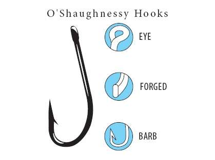 Gamakatsu O'Shaughnessy Hooks