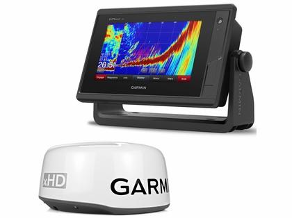 Garmin GPSMAP 742xs Chartplotter/Sonar & GMR 18 xHD Radar Bundle