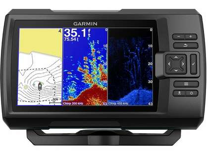 Garmin STRIKER Plus 7cv Fishfinder w/ CV20-TM Transducer