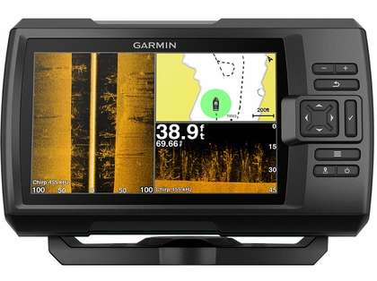 Garmin STRIKER Plus 7sv Fishfinder w/ CV52HW-TM Transducer