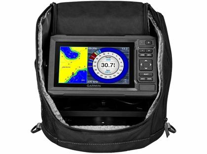 Garmin ECHOMAP Plus 63cv Ice Fishing Bundle w/ GT8HW-IF Transducer