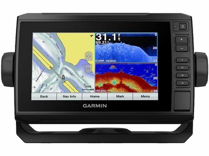 Garmin ECHOMAP Plus 73cv Chartplotter/Sonar Combo w/ LakeVu G3 & GT22-TM Transducer