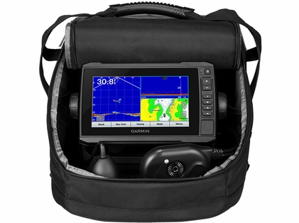 Garmin Panoptix Ice Fishing Bundle w/ ECHOMAP Plus 73cv