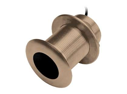 Garmin B75L Bronze 0° Thru-Hull Transducer - 300W, 8-Pin